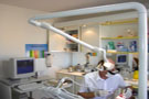 Our dentist's room